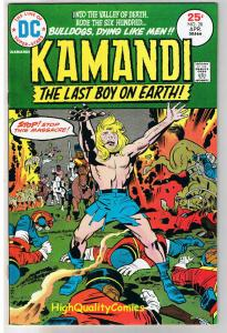 KAMANDI #28, VF+, Jack Kirby, Last Boy on Earth, 1972, more in store