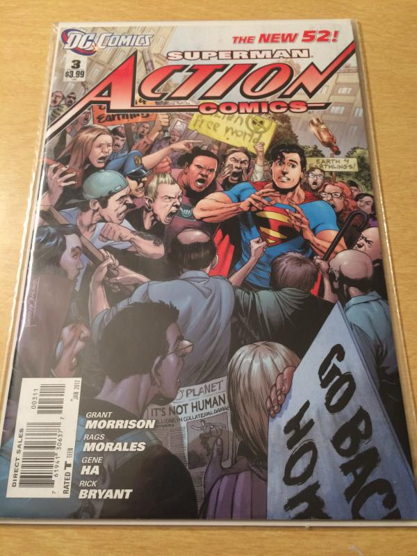 Superman Action Comics#3  The New 52