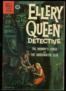 ELLERY QUEEN DETECTIVE-FOUR COLOR #1165 1961-MUMMY ISSU VF