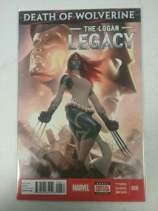 Death Of Wolverine: The Logan Legacy #6 Marvel Comic NW142