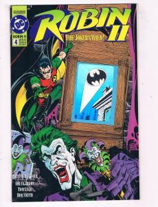 Robin 2 #4 VF/NM DC Comics Comic Book Dixon Batman Joker DE45