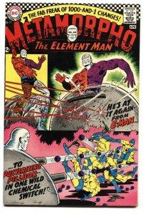 METAMORPHO #11 comic book 1967-DC-HIGH GRADE