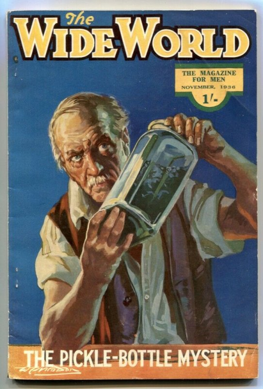 The Wide World Pulp November 1936- Pickle-Bottle Mystery