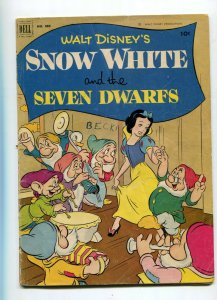 Dell Four Color 382 GD+ Snow White and the Seven Dwarfs