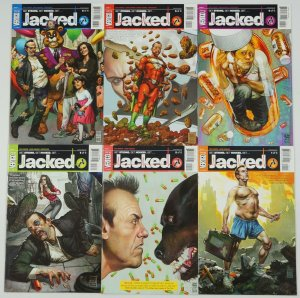 Jacked #1-6 VF/NM complete series - neurotic familiy man addicted to smart pill