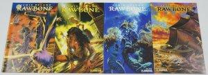 Rawbone #1-4 VF/NM complete series - pirate horror comics - avatar 2 3 set lot