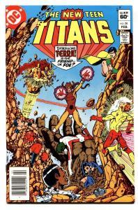 NEW TEEN TITANS #28-COMIC BOOK-First TERRA cover-DC nm-
