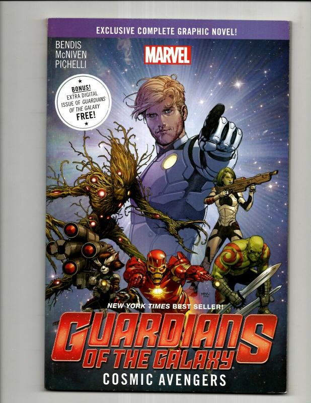 Guardians Of The Galaxy Vol. # 1 Cosmic Avengers Marvel Comics TPB Book SN1