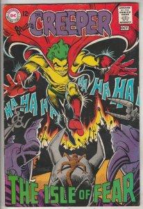 Creeper, Beware The #3 (Oct-68) FN/VF Mid-High-Grade Creeper