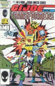 G.I. Joe and the Transformers #1, NM- (Stock photo)