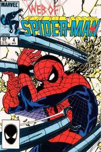 Web of Spider-Man (1985 series) #4, VF+ (Stock photo)