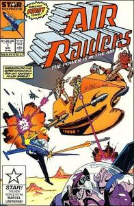 Marvel AIR RAIDERS #1 FN