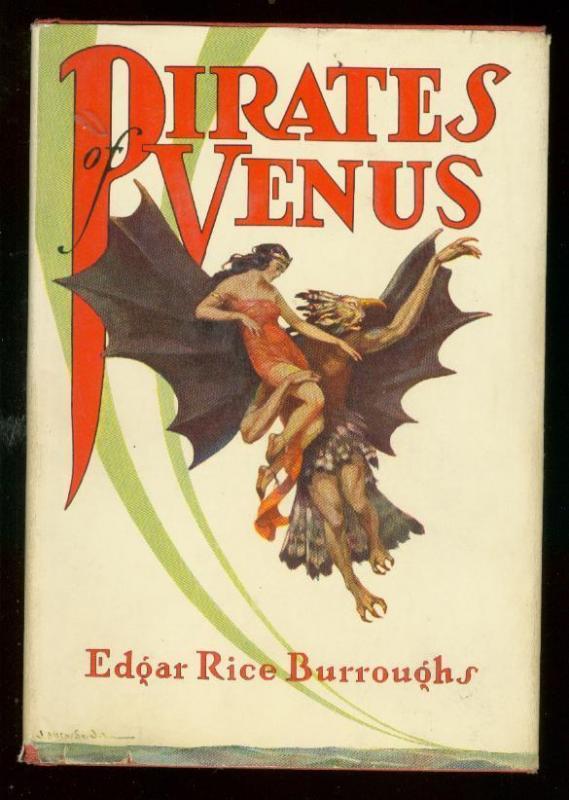 PIRATES OF VENUS HARDCOVER-EDGAR RICE BURROUGHS-1947 FN/VF