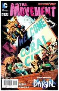 New 52 The Movement #9 Batgirl (DC, 2014) VF