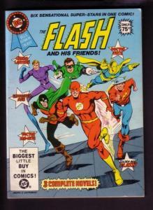 THE FLASH DIGEST #24 1981- THE FLASH-GREEN LANTERN-FATE- VF