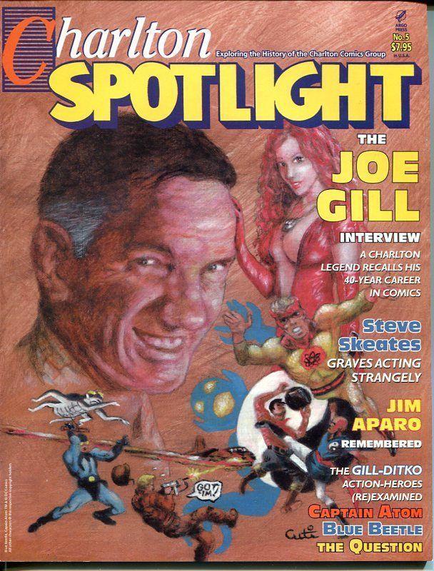 CHARLTON SPOTLIGHT #5-FANZINE-2006-JOE GILL-JIM APARO-NICK CUTI-STEVE DITKO-vf