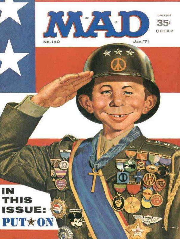 Mad #140 VG; E.C   low grade comic - save on shipping - details inside