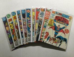 Super-Team Family 1 2 3 5 7 8 9 10 11 13 15 Lot Run Set Fine Fn 6.0 Dc Comics