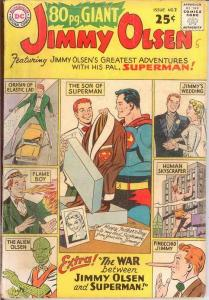 EIGHTY PAGE GIANT 2 G- JIMMY OLSEN    Sept. 1964 COMICS BOOK