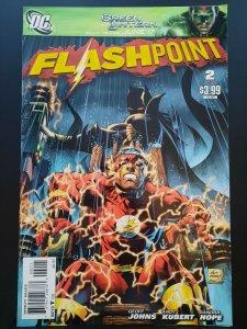 FLASHPOINT #2 VF (2011) 1st Print Thomas Wayne Batman Cover DC Comic Flash