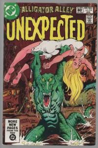 UNEXPECTED (TALES OF) 218 FN Jan. 1982