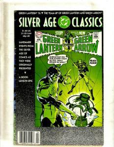 7 Silver Age Classics DC Comics Green Lantern/Green Arrow, Green Lantern, + J344