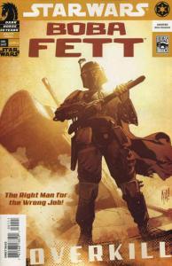 Star Wars: Boba Fett—Overkill #1 VF/NM; Dark Horse   save on shipping - details
