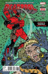 DEADPOOL (2015 MARVEL) #8 NM- FIRST PRINT NM-
