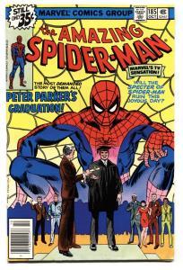 AMAZING SPIDER-MAN #185-vf/nm-Bronze Age---High Grade VF