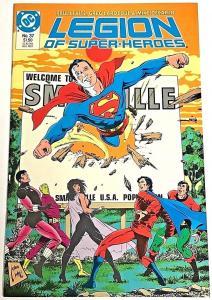 LEGION OF SUPER-HEROES#37 VF/NM 1987 DC COMICS CLASSIC SUPERBOY BREAK OUT