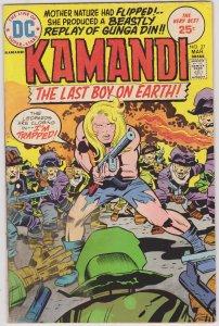 Kamandi, The Last Boy on Earth #27 (1975)
