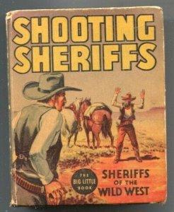 Shooting Sheriffs of The Old West #1195-1936-Whitman-Wyatt Earp-Ben Thompson-...