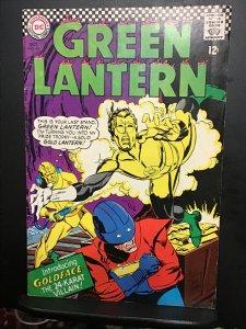 Green Lantern #48 (1966) Mid high-grade 1st Gold Face key! FN/VF Wow!