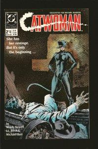DC Comics Catwoman No 2 March 1989