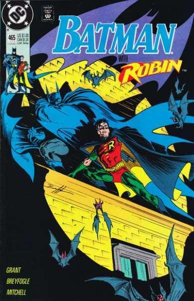 Batman (1940 series) #465, VF (Stock photo)