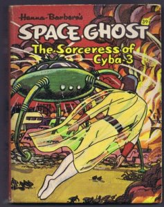 Space Ghost Sorceress of Cyba 3 VINTAGE 1968 Whitman Big Little Book 16