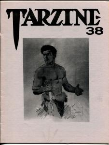 Tarzine #38 9/1985-Bill Ross-Edgar Rice Burroughs-Tarzan-collector info-VF