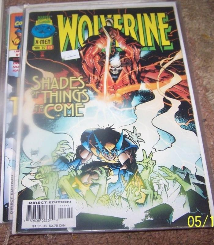 WOLVERINE #111 marvel  1997 SHAMAN OGUN old man  logan