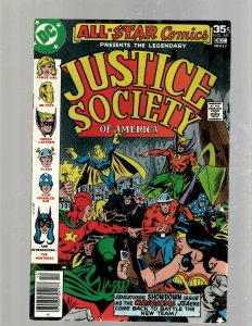 Lot Of 8 All Star Comics DC Comic Books #67 68 69 70 71 72 73 74 Power Girl GK34