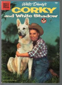 Corky and White Shadow-Four Color Comics #707 1956-Darlene Gillespie-VG