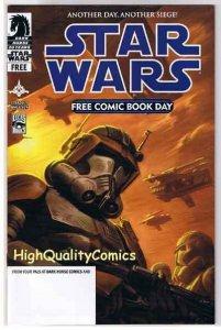 STAR WARS / CONAN, NM, Spear, Siege, Tim Truman, FCBD, 2006, more in store