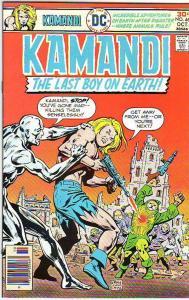Kamandi the Last Boy on Earth #46 (Oct-76) NM Super-High-Grade Kamandi