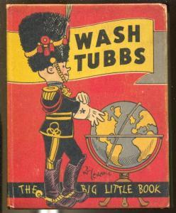 Wash Tubbs #751 1934-Whitman-In Pandemonia-Roy Crane-FN
