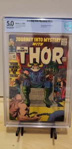 Journey Into Mystery #122  (CBCS 5.0) Thor! Silver Age 1965