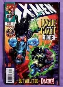 Joe Kelly X-MEN #81 Adam Kubert Rogue & Gambit Reunited (Marvel, 1998)!