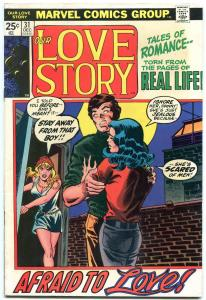 Our Love Story #31 1974- Marvel Bronze Age Romance- African American story