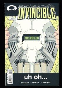 Invincible #4 NM 9.4