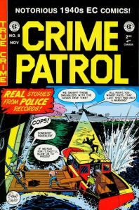 Crime Patrol (Gemstone) #8 FN; Gemstone   save on shipping - details inside