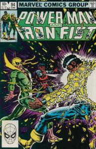 Power Man & Iron Fist #94 FN; Marvel | save on shipping - details inside