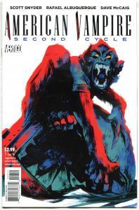 AMERICAN VAMPIRE Second Cycle #7, NM, Vertigo, 2014, 1st printing, more in store